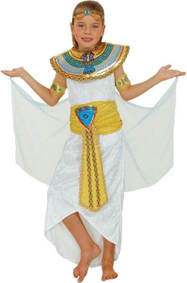 Dětský kostým Egyptská královna Kleopatra II 5 dílný set M