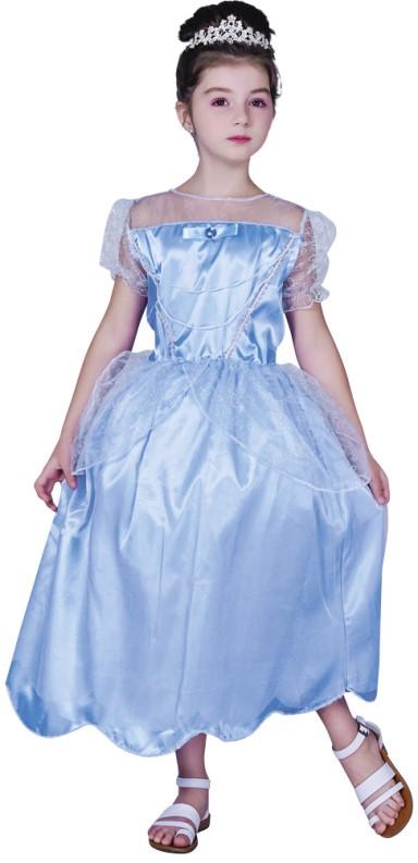 Dětský kostým Princezna modrý Velikost kostýmu: L (10-12 let)