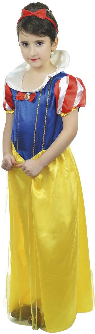 Dětský kostým Princezna modrožlutý sada 2ks Velikost kostýmu: L (10-12 let)