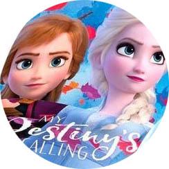 Dětská kšiltovka Frozen 2 Ledové království Anna / Elsa II Velikost: ANNA a ELSA 52