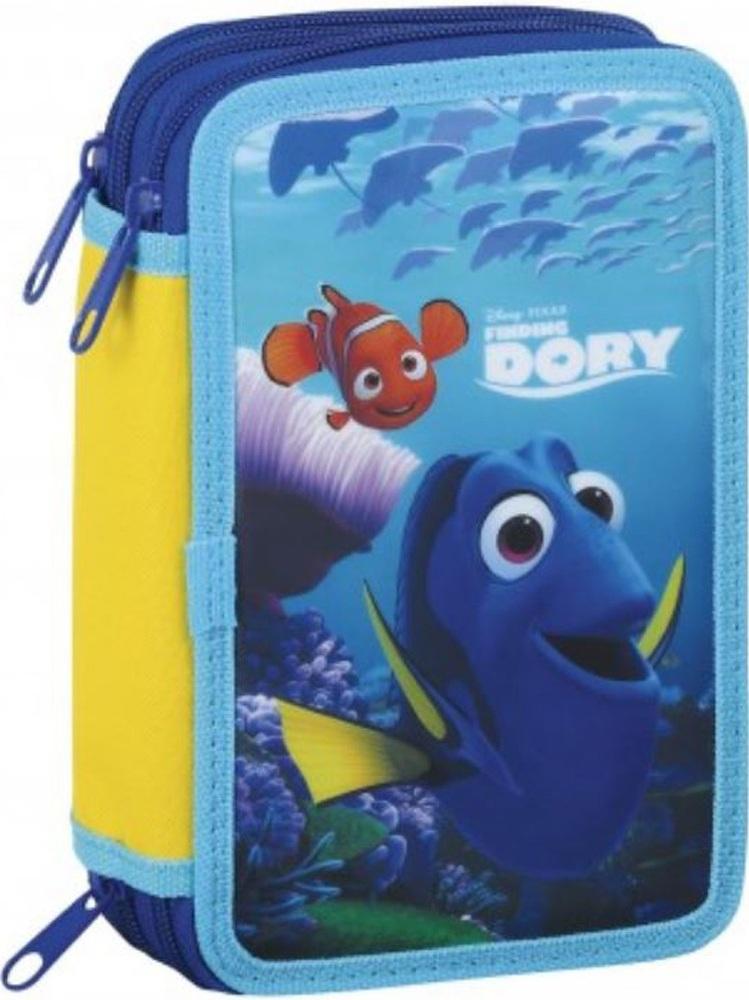 Třípatrový penál Nemo Hledá se Dory plný