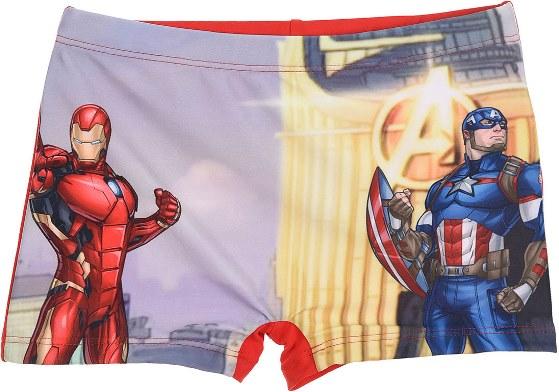 Chlapecké plavky Avengers Ironman červené Velikost: 140 (10 let)
