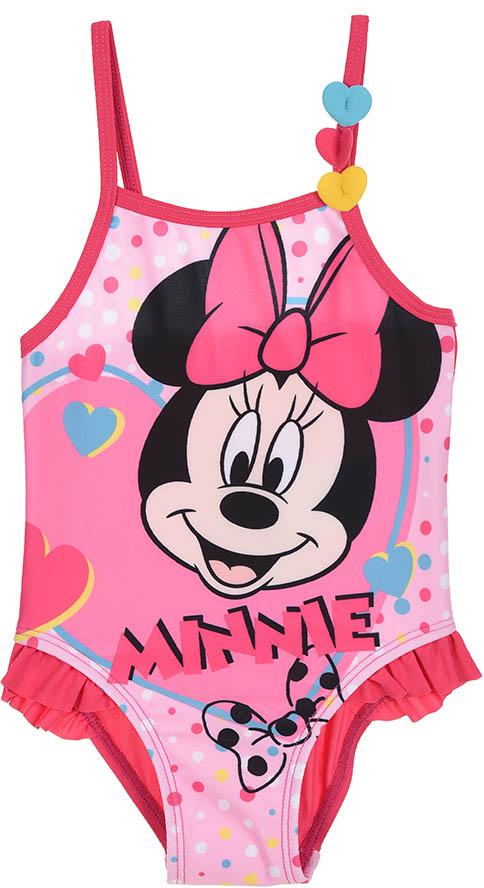 Dívčí plavky Minnie Mouse baby růžové Velikost: 12M (74cm)