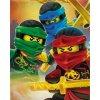 Fleece deka Lego Ninjago