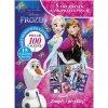 Samolepky + 4x samolepící puzzle Frozen Ledové království