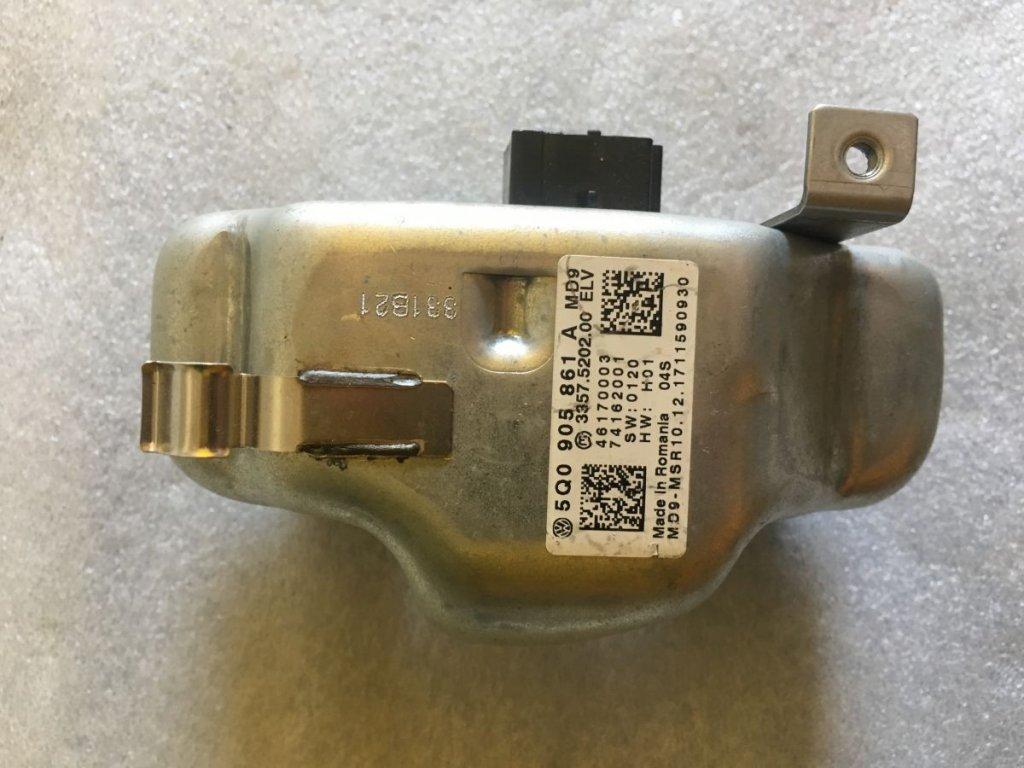 Elektrický zámek volantu 5Q0905861A
