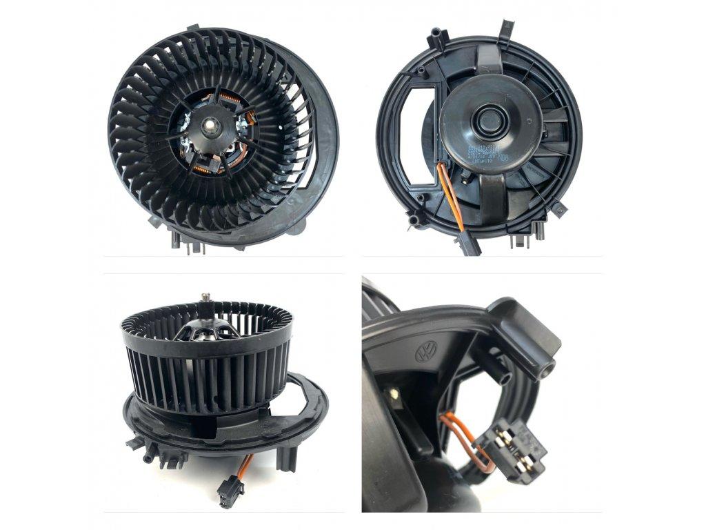 5Q1819021G / 5Q0907521E Ventilátor topení + regulátor