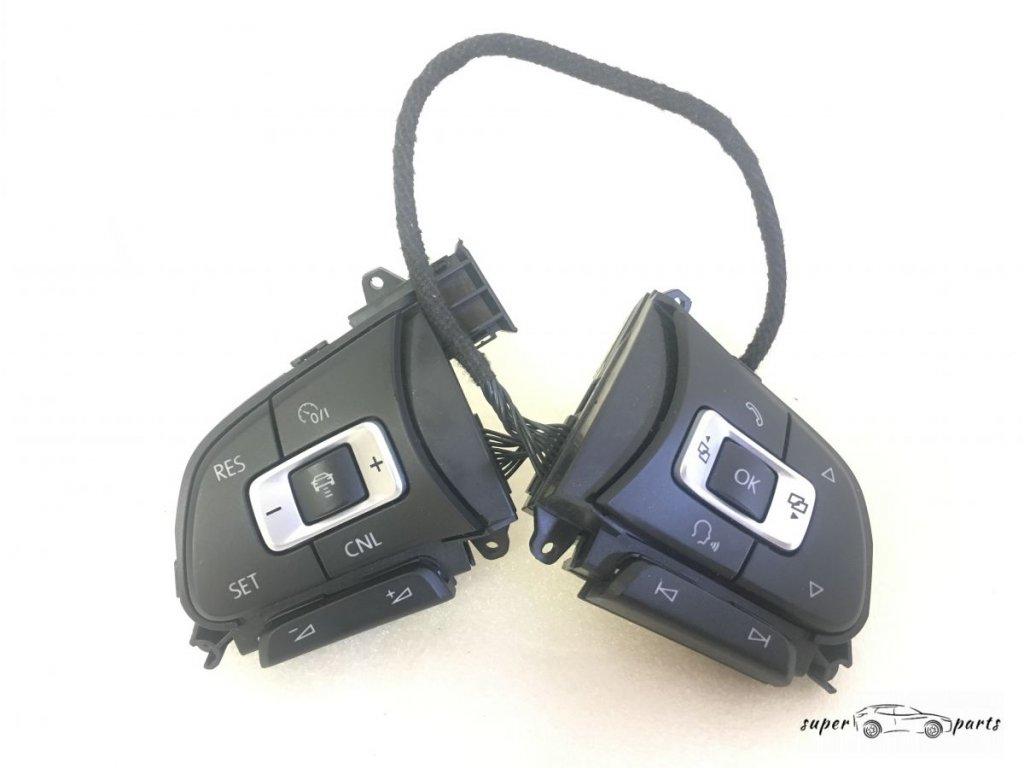 Multifunkční tlačítka volant VW 6C0959442B