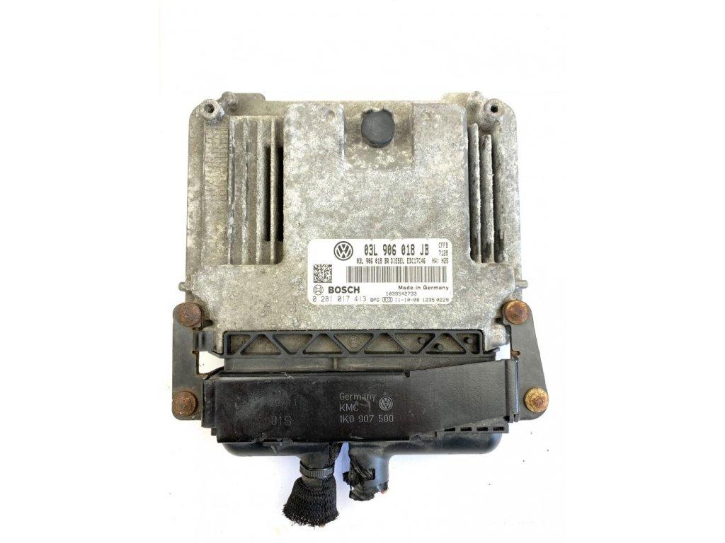 03L906018JB Řídící jednotka motoru CFFB