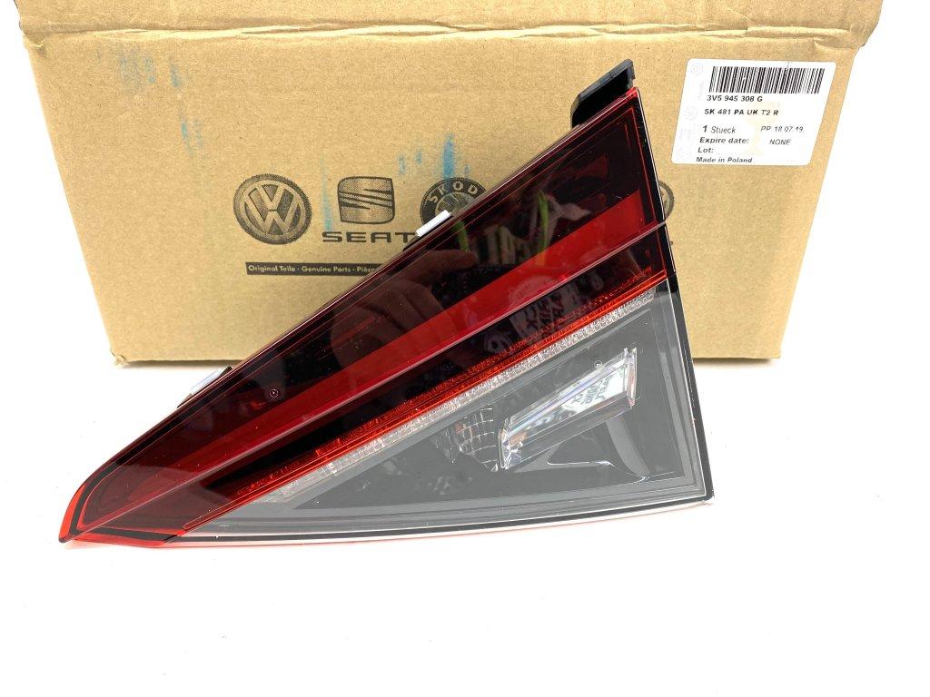 3V5945308G Pravé zadní LED světlo SUPERB III