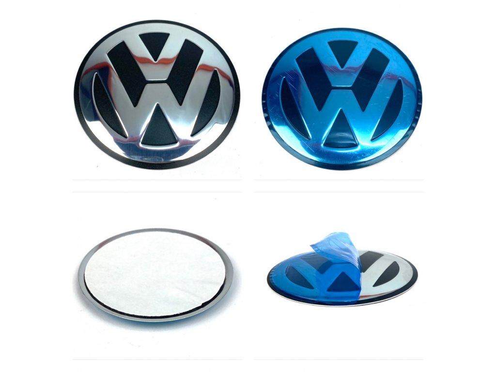 VW Znak / VW logo Středu kol 75mm