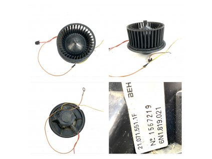 6N1819021 Ventilátor topení VW CADDY / POLO