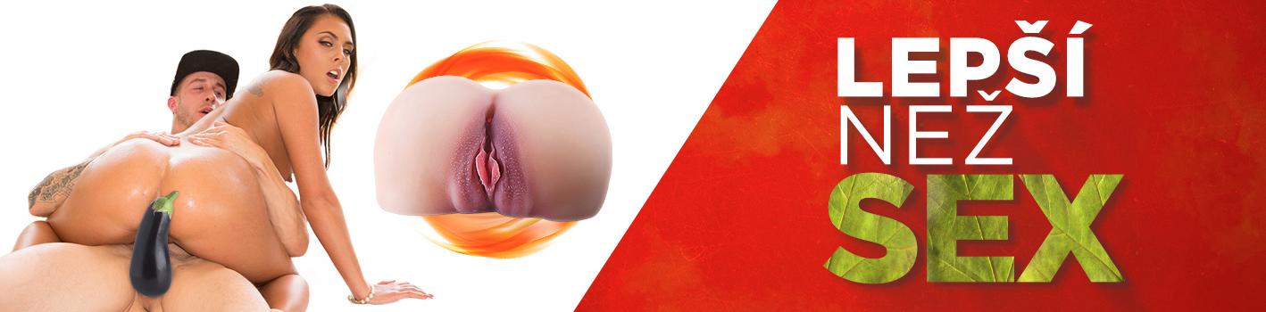 banner umělá vagína super real pussy lepší než sex