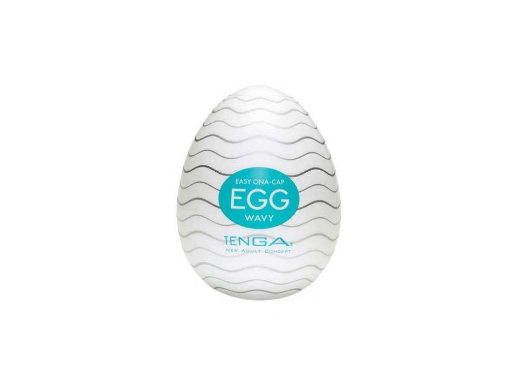 Masturbacni vajicko Tenga Egg Wavy