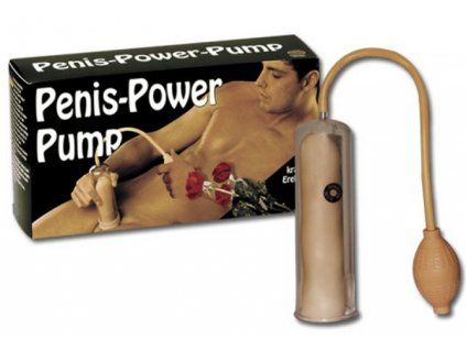 Pumpa na penis Penis power pump