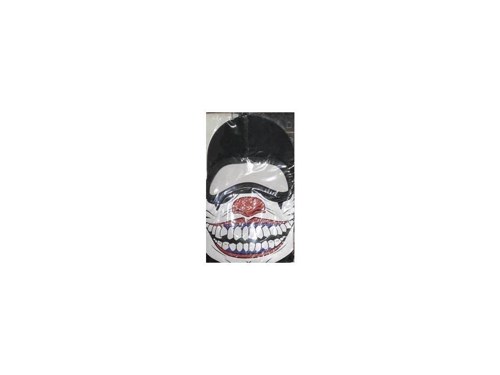 2183 kukla maska m1 s potlacou joker red nose