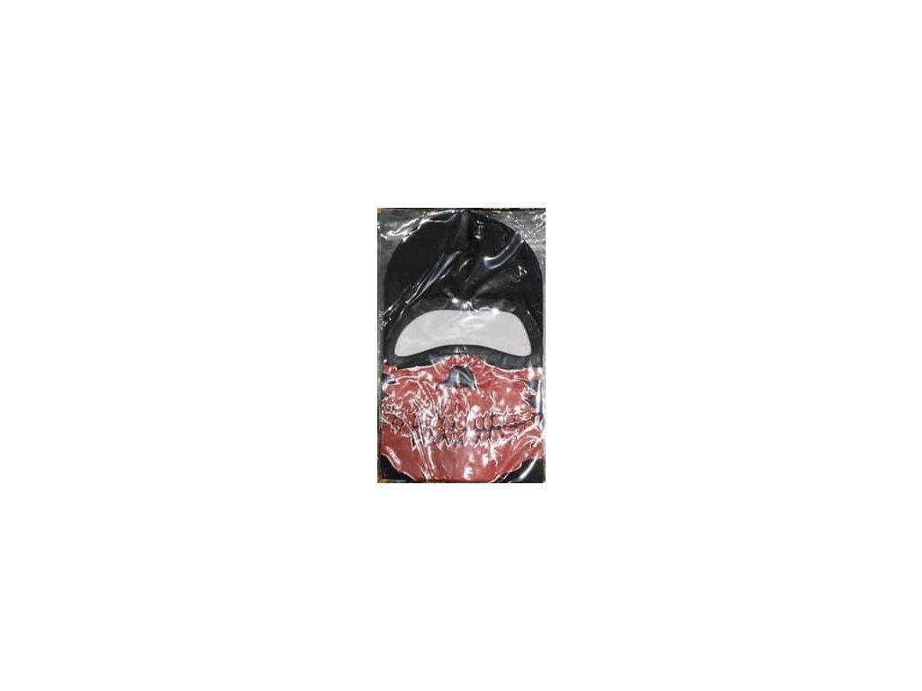 2189 kukla maska m1 s potlacou red skill