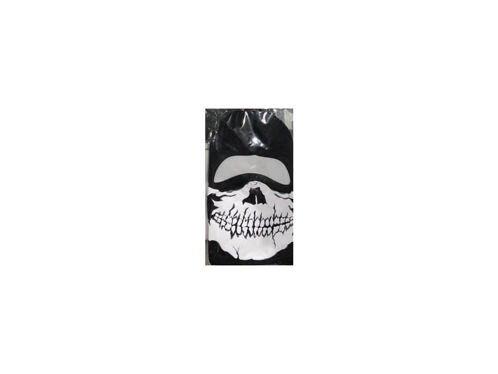 2198 kukla maska m1 s potlacou white skill