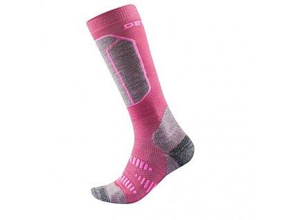 devold alpine kid sock 20b ded 557 025 cerise 1