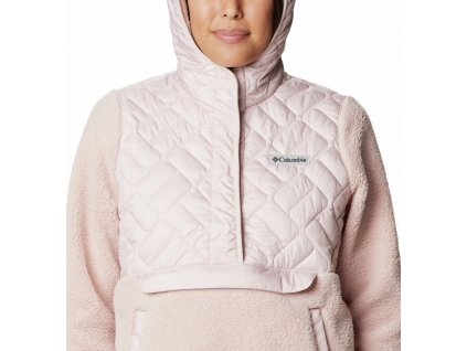 Columbia Sweet View™ Fleece Hooded Pullover 195864 Dámska Mikina (Color Mineral Pink, Odev Women sizing XXL)