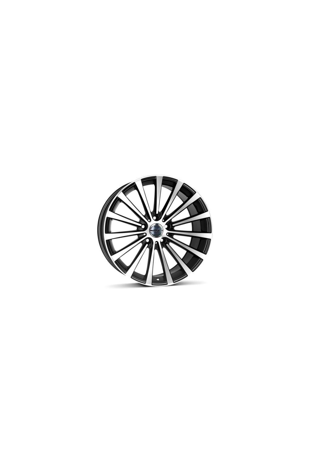 Disk Borbet BLX 8.5x19 ET45 5x112 cierno lesteny matny