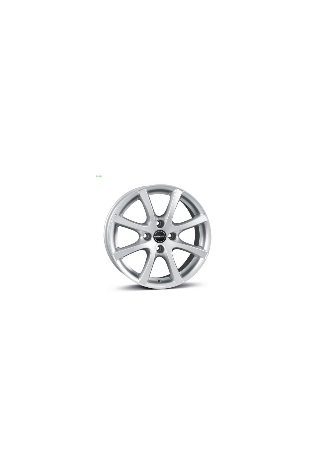 Disk Borbet LV4 5.5x15 ET40 4x100 kristalovo strieborny