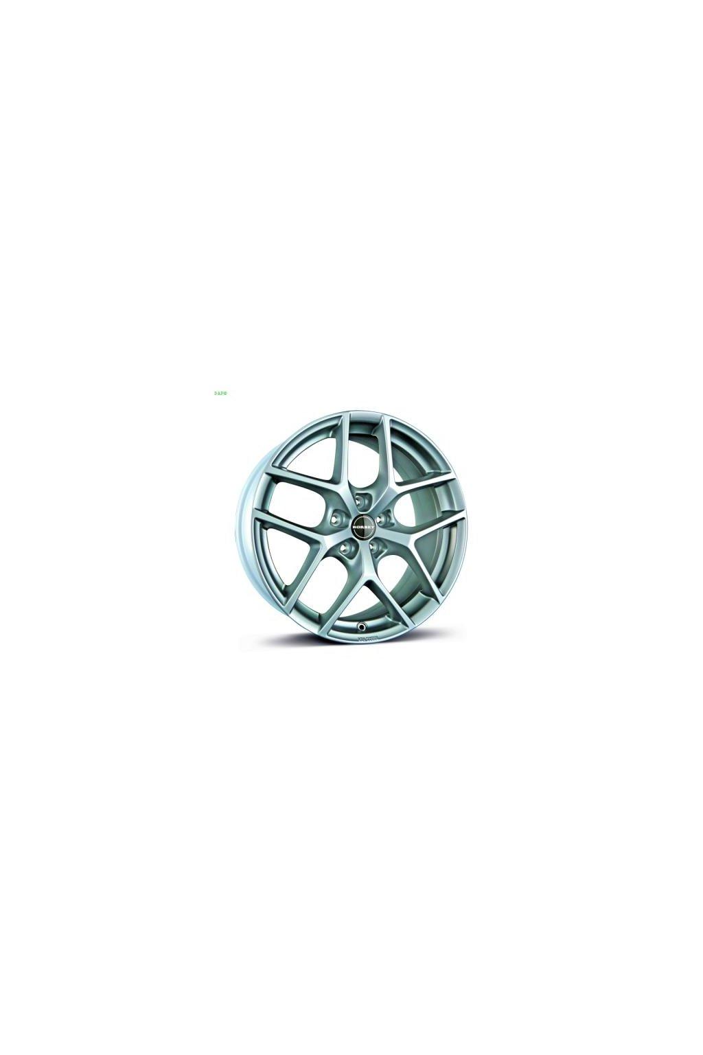 Disk Borbet Y 7.5x17 ET37 5x112 kristalovo strieborny
