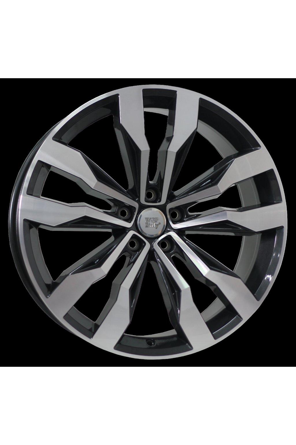 WSP VW COBRA 8.5x20.0 ET38 5x112 GLOSSY BLACK POLISHED