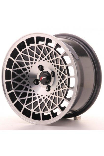 Disk Japan Racing JR14 15x8 ET20 4x100 Black Machined