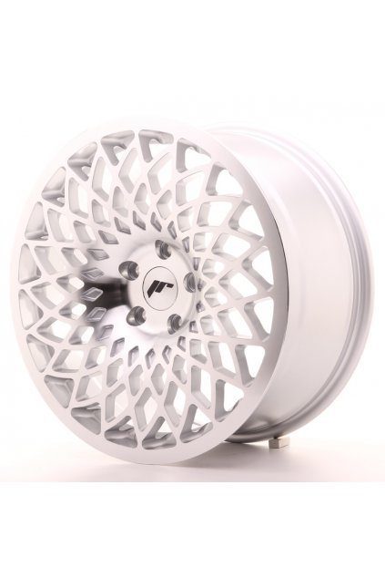 Disk JR Wheels JR17 18x8,5 ET35 5x100 Silver Mach Face