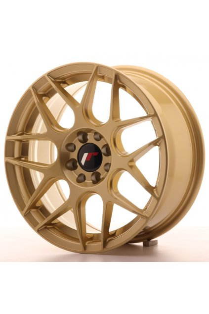 Disk Japan Racing JR18 16x7 ET25 4x100/108 Gold
