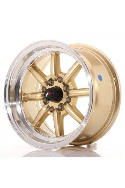 Disk Japan Racing JR19 14x7 ET0 4x100/114 Gold