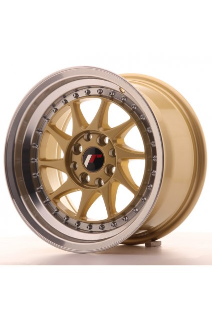 Disk Japan Racing JR26 15x8 ET25 4x100/108 Gold