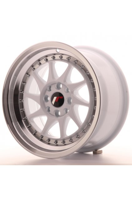 Disk Japan Racing JR26 15x8 ET25 4x100/108 White