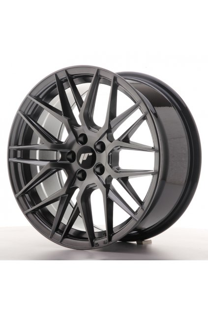 Disk Japan Racing JR28 17x8 ET35 5x100 Hyper Black