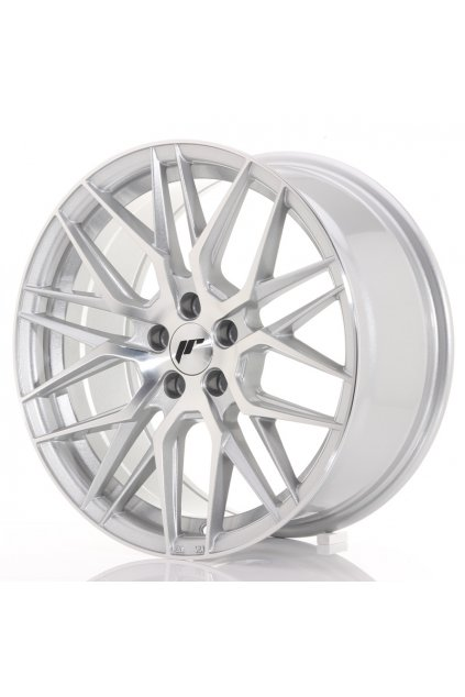 Disk Japan Racing JR28 17x8 ET35 5x100 Silver Machined