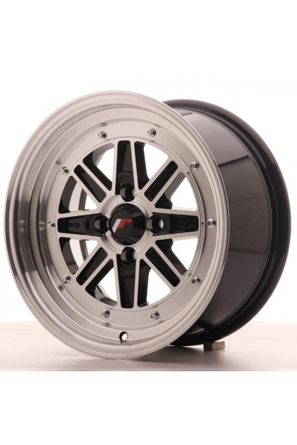 Disk Japan Racing JR31 15x7.5 ET20 4x100 Black Machined