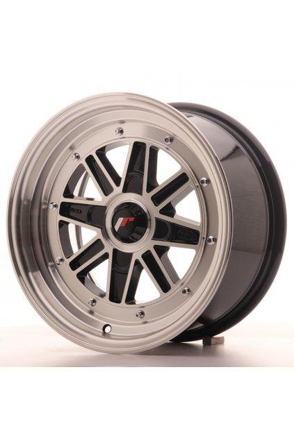 Disk Japan Racing JR31 15x7.5 ET20 4H BLANK Black Mach