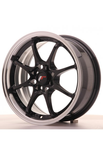 Disk Japan Racing JR5 15x7 ET35 4x100 Gloss Black