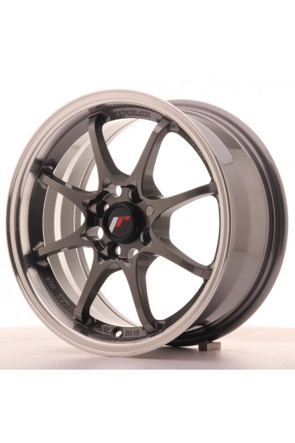 Disk Japan Racing JR5 15x7 ET35 4x100 Gun Metal