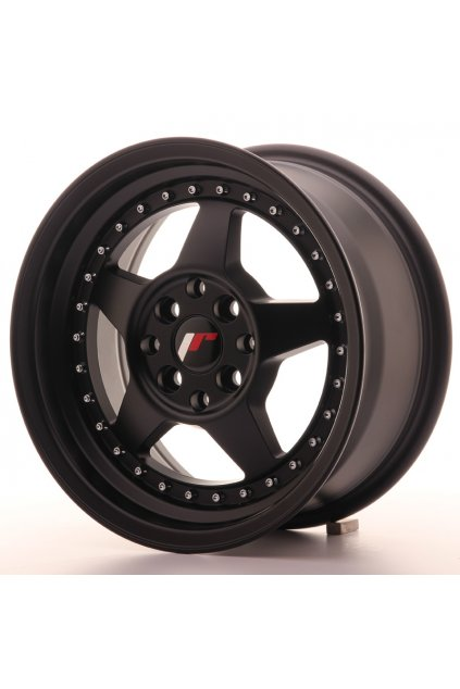 Disk Japan Racing JR6 15x7 ET25 4x100/108 Matt Black