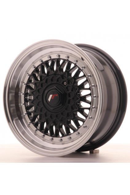 Disk Japan Racing JR9 15x7 ET20 4x100/108 Black