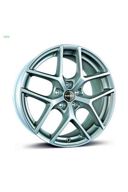 Disk Borbet Y 7x16 ET45 5x108 kristalovo strieborny
