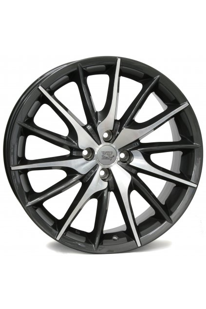 WSP ALFA LUCCA 7.0x17.0 ET39 4x98 ANTHRACITE POLISHED