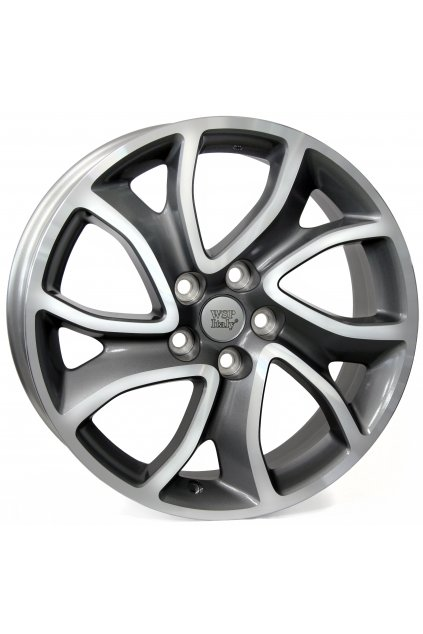 WSP CITROEN YONNE 7.0x18.0 ET38 5x114.3                        ANTHRACITE POLISHED