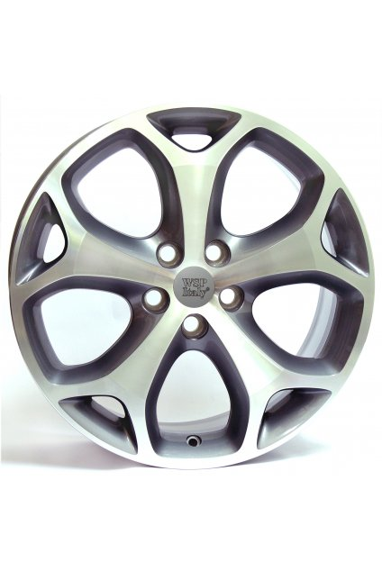 WSP FORD LAPAZ 6.5x16.0 ET50 5x108 ANTHRACITE POLISHED