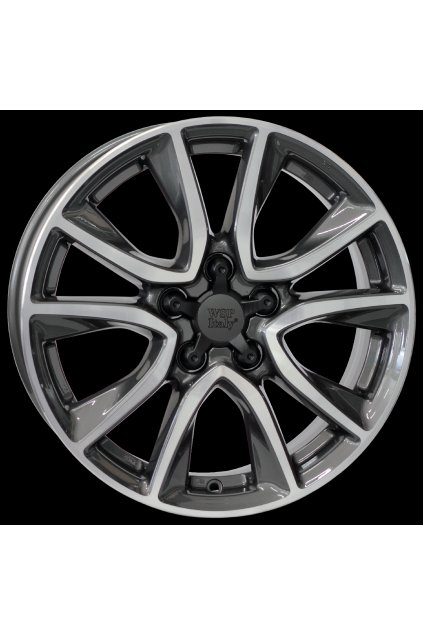 WSP HONDA GERDA CR-Z 6.5x17.0 ET45 5x114.3                        ANTHRACITE POLISHED