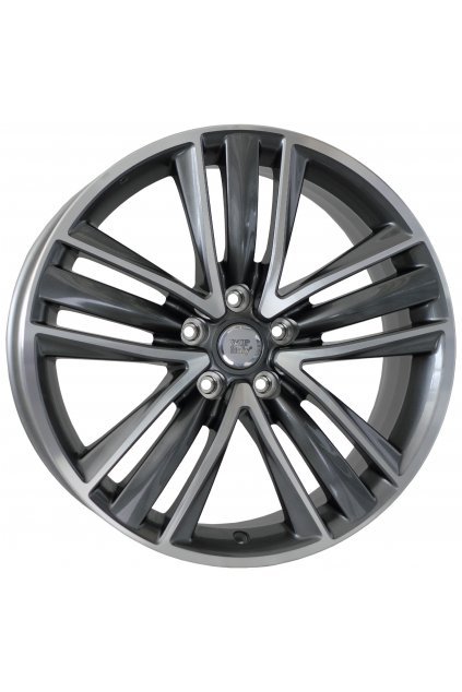 WSP INFINITI SIDNEY 8.5x19.0 ET50 5x114.3                        ANTHRACITE POLISHED