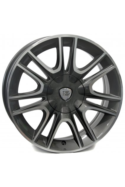 WSP LANCIA FABRO 6.0x15.0 ET30 4x98 ANTHRACITE POLISHED