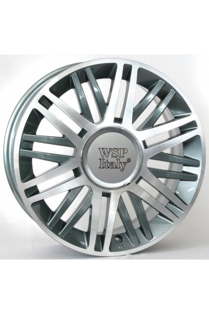WSP LANCIA CILENTO 6.5x16.0 ET40 4x98 ANTHRACITE POLISHED